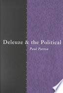 Deleuze and the Political
