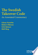 The Swedish Takeover Code Book PDF