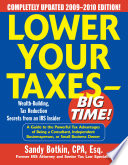 Lower Your Taxes   Big Time  2009 2010 Edition