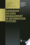 Handbook On Data Management In Information Systems