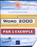 WORD 2000  Avec CD ROM