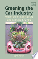 Greening the Car Industry Both Comprehensive And Partial In Equal Degree