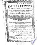 Compas de perfectos  Christo crucificado