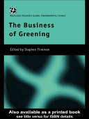 The Business of Greening