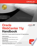 Oracle Webcenter 11g Handbook