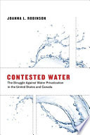Contested Water