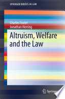 Altruism  Welfare and the Law