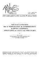 Annales de l Institut technique du b  timent et des travaux publics