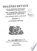 Jus canonicum universum privatum et publicum