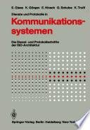 Dienste und Protokolle in Kommunikationssystemen