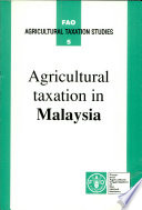 Agricultural Taxation in Malaysia