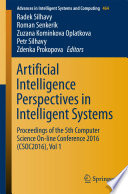 Artificial Intelligence Perspectives In Intelligent Systems