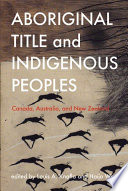 Aboriginal Title and Indigenous Peoples