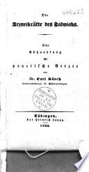 Die Arzneikräfte des Salmiaks. Eine Abhandlung für praktische Aerzte