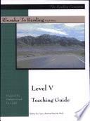 Rhoades to Reading Level V Teaching Guide