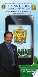 Lions 324A1 Centennial Mini Directory Pdf/ePub eBook