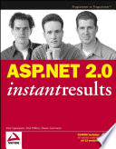 Asp Net 2 0 Instant Results book