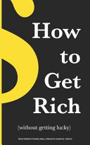 How to Get Rich   without Getting Lucky  Book PDF
