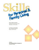 Skills for Personal   Family Living