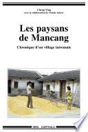 illustration Les paysans de Mancang, chronique d'un village taiwanais