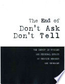 The End of Don't Ask, Don't Tell
