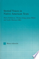 Storied Voices In Native American Texts