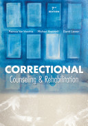 Correctional Counseling And Rehabilitation