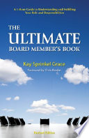 The Ultimate Board Member s Book