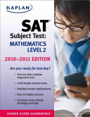 Kaplan SAT Subject Test Mathematics Level 2 2010 2011 Edition