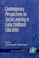 Contemporary perspectives on social learning in early childhood education