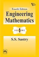 Engineering Mathematics Vol. One 4Th Ed.
