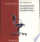 Der Ba1/4rodrehstuhl Von Klaus Franck Und Werner Sauer