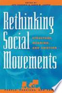 Rethinking Social Movements