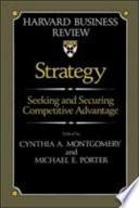 Ebook Strategy Epub Cynthia A. Montgomery,Michael E. Porter Apps Read Mobile
