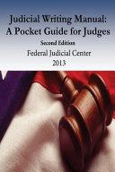 Judicial Writing Manual