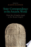 State Correspondence in the Ancient World