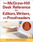 The Mcgraw Hill Desk Reference For Editors Writers And Proofreaders Book Cd Rom