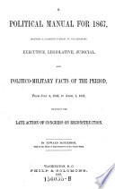 A Political Manual for 1867