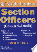 Section Officers  Commercial Audit  SSC