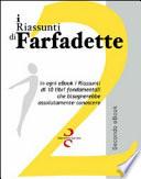 I riassunti di Farfadette  Seconda E book collection  Per chi non ha   tempo di leggere