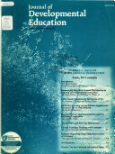 Journal of Developmental Education