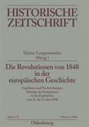 Die Revolutionen von 1848 in der europäischen Geschichte