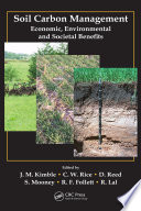 Soil Carbon Management : united states, soil has fueled the availability...