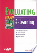 Evaluating E Learning book