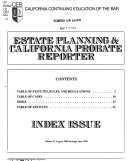 Estate Planning & California Probate Reporter