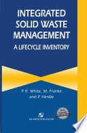 Integrated Solid Waste Management A Lifecycle Inventory