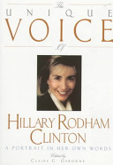 Unique Voice Hillary Cli Book PDF
