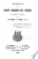 Pélerinage de Saint-Joseph-du-Chêne au diocèse d'Angers