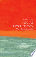 Social Psychology  A Very Short Introduction