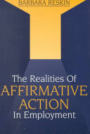 The Realities of Affirmative Action in Employment